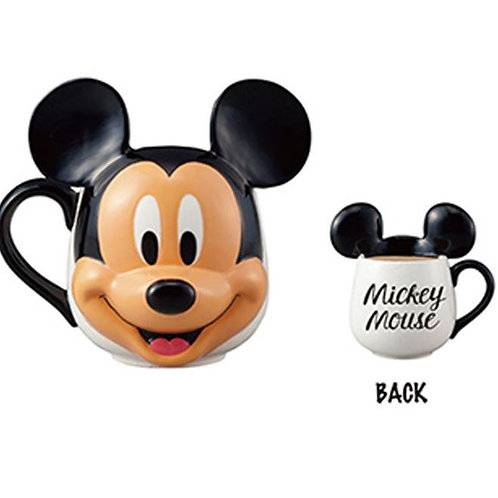 MICKEY MOUSE FACE MUG FEATURING DISNEYS MICKEY MOUSE MADE IN JAPAN