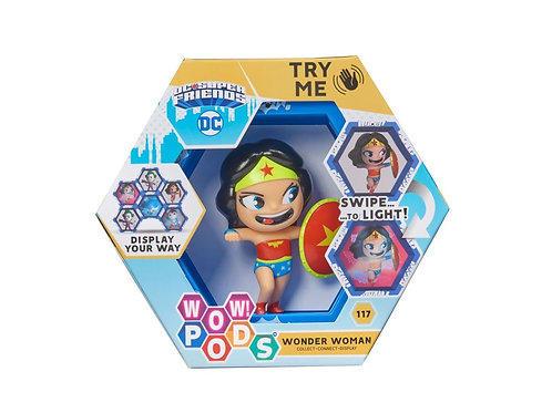COLLECT - CONNECT - DISPLAY!    DC  Friends  - WONDER WOMAN   Connect the Pods
