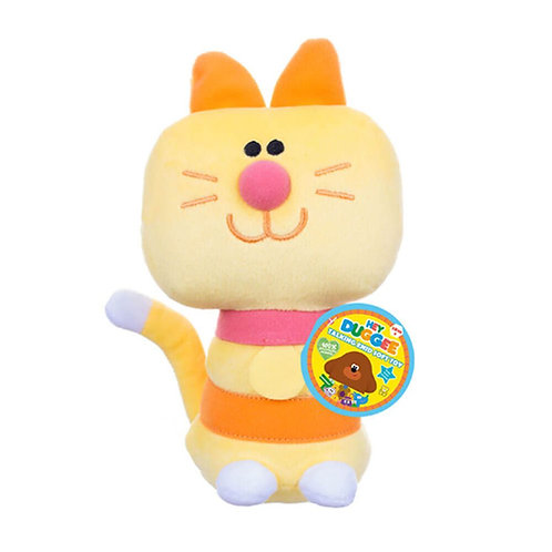 HEY DUGGEE TALKING ENID SOFT TOY 100% RECYCLED FABRIC 20CM