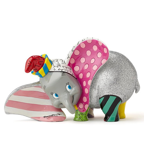 BRITTO DISNEY DUMBO COLLECTABLE FIGURINE VIBRANT COLOURS GIFT BOXED 4050482