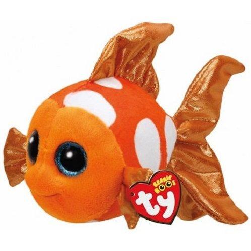 SAMI THE ORANGE FISH TY BEANIE BOOS