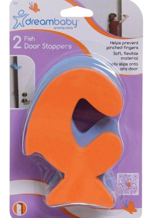 DREAM BABY 2 X FISH DOOR STOPPERS