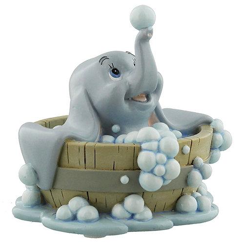 DISNEY MAGICAL MOMENTS DUMBO IN BATH BABY MINE KEEPSAKE FIGURINE 10CM GIFT BOX