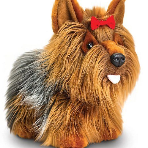 KORIMCO KEEL TOYS YORKIE YORKSHIRE TERRIER CALLED ANNIE 30CM