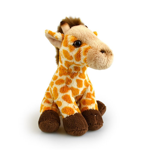 KORIMCO LIL FRIENDS THE ECO FRIENDLY PLUSH TOY GIRAFFE 15CM AND ECO FRIENDLY TAG