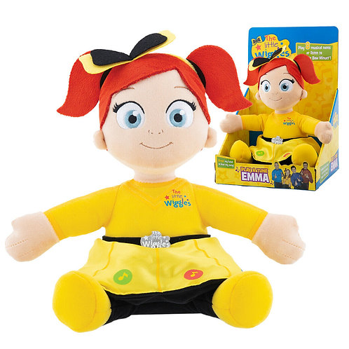 LITTLE WIGGLES PLAY A TUNE EMMA BNIB AGES 10+ MONTHS