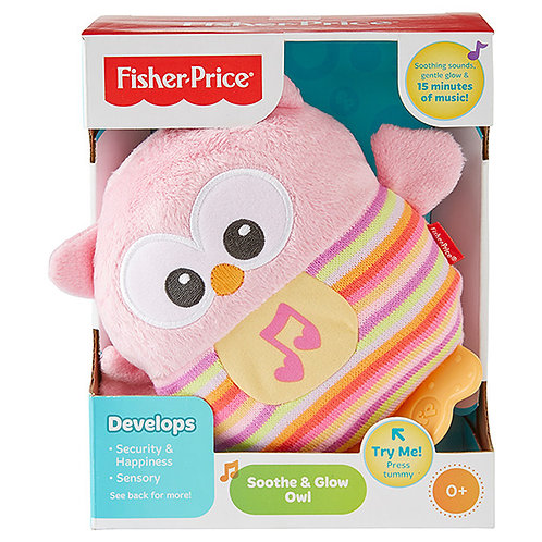 FISHER PRICE SOOTHE AND GLOW OWL