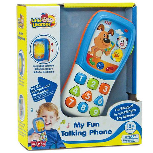 LITTLE LEARNER MY FUN TALKING PHONE BILINGUAL