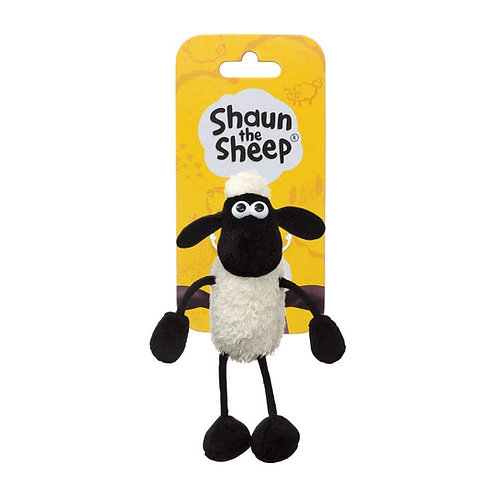 AURORA AARDMAN SHAUN THE SHEEP KEY CLIP KEY CHAIN 15CM