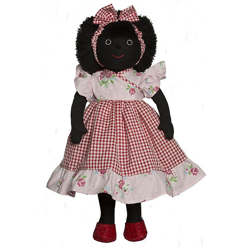 MEL AND STEFF GOLLY MATILDA HANDMADE APPROXIMATELY 40CMS
