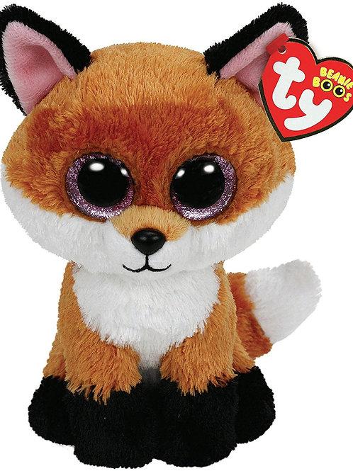 SLICK THE FOX TY BEANIE BOOS