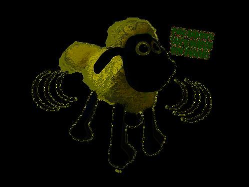 AARDMAN SHIVERING SHAUN THE SHEEP 30CM