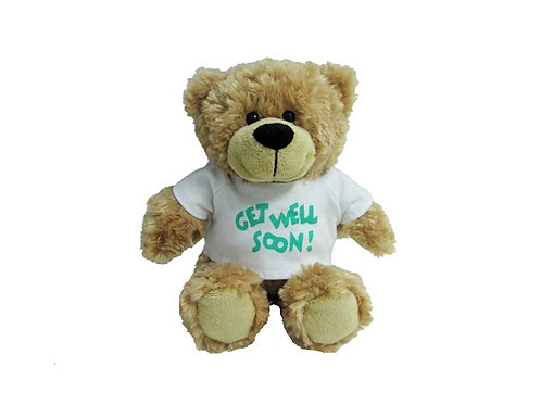KORIMCO BUDDY GET WELL SOON BEAR BNWT 26CM