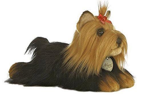 YORKSHIRE TERRIER DOG PLUSH TOY NEW AURORA MIYONI 26CM LENGTH