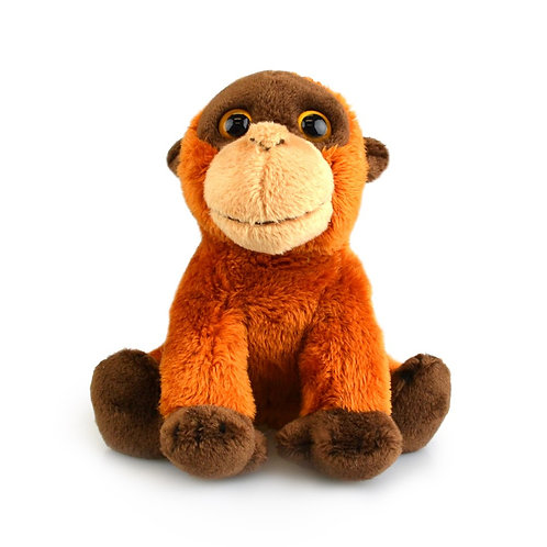 ORANGUTAN 15CM KORIMCO LIL FRIENDS THE ECO  PLUSH TOY  AND ECO FRIENDLY TAG