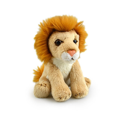 LION  15CM KORIMCO LIL FRIENDS THE ECO FRIENDLY  PLUSH TOY  AND ECO FRIENDLY TAG