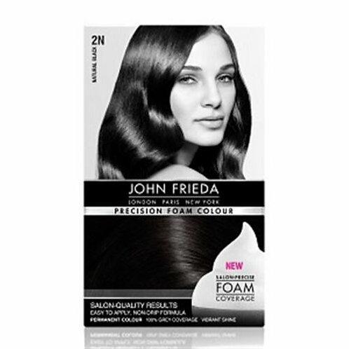 JOHN FRIEDA LUMINOUS NATURAL BLACK HAIR COLOUR 2N