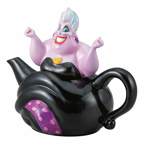 DISNEY VILLIANS URSULA TEAPOT FROM THE LITTLE MERMAID DESIGNED IN JAPAN