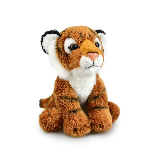 GOLD TIGER  15CM KORIMCO LIL FRIENDS THE ECO   PLUSH TOY  AND ECO FRIENDLY TAG