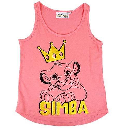 DISNEY THE LION KING SIMBA GIRLS TANK TOP SINGLET