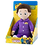 Thumbnail: LITTLE WIGGLES LULLABY LACHY 30CM TALKING PURPLE WIGGLES IN PYJAMAS