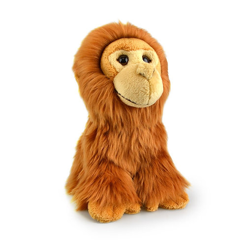 ORANGUTAN 18 CM KORIMCO LIL FRIENDS THE ECO  PLUSH TOY  AND ECO FRIENDLY TAG