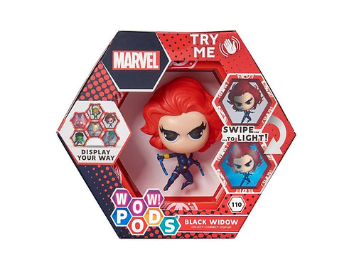 WOW ! POD MARVEL BLACK WIDOW 110 SERIES 1 SWIPE TO LIGHT