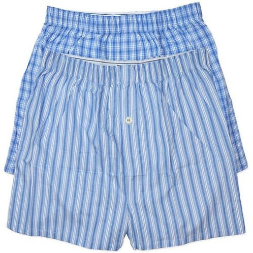 MENS COTTON BOXERS 2 PACK  IN PACK SIZE M, L, XL. XXL