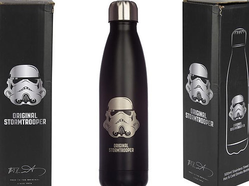 STAR WARS STORMTROOPER FOR HOT AND COLD DRINKS 500ML INSULATED BOTTLE IN BOX