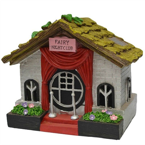 SOLAR FAIRY NIGHT CLUB HOUSE MULTI LIGHTS COME ON AT NIGHT TIME