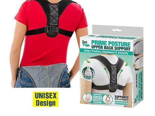 PRIME POSTURE UPPER BACK SUPPORT UNISEX DESIGN HELPS POSTURE & ALIGNMENT
