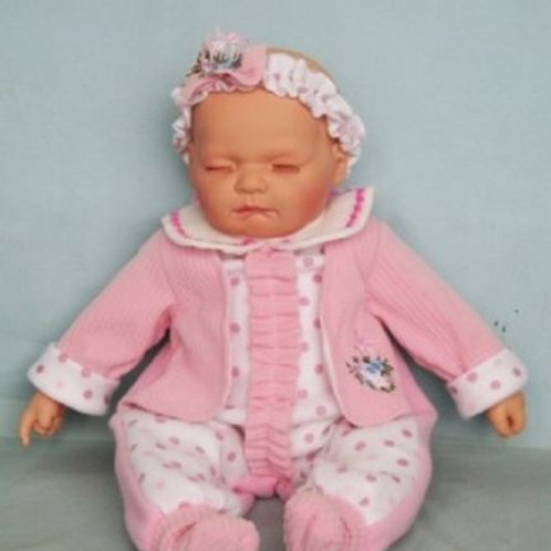 REALISTIC SLEEPING BABY DOLL FELICITY IN BOD