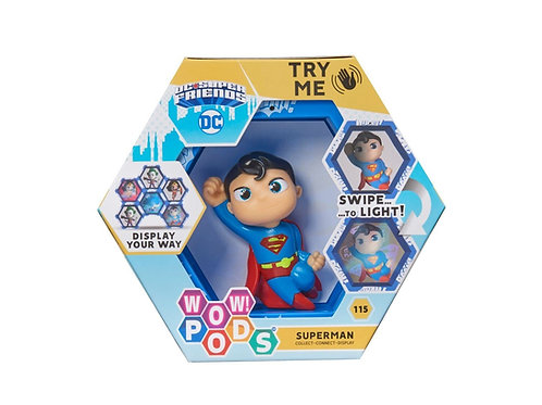 COLLECT - CONNECT - DISPLAY!    DC  Friends  - SUPERMAN    Connect the Pods t