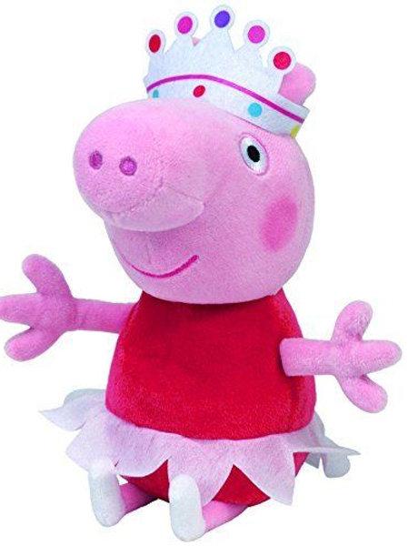TY BEANIE BABIES BALLERINA PEPPA FROM PEPPA THE PIG