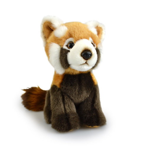 RED PANDA 18 CM KORIMCO LIL FRIENDS THE ECO PLUSH TOY  AND ECO FRIENDLY TAG