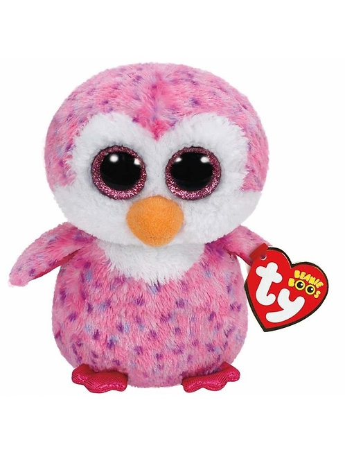 GLIDER THE PINK PENGUIN TY BEANIE BOOS