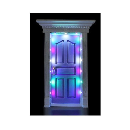 SECRET LIGHT UP LED LIGHTS FAIRY DOOR MAUVE FV133 KID TOOTH FAIRY