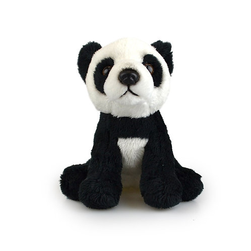 PANDA 15CM KORIMCO LIL FRIENDS THE ECO FRIENDLY PLUSH TOY  AND ECO FRIENDLY TAG