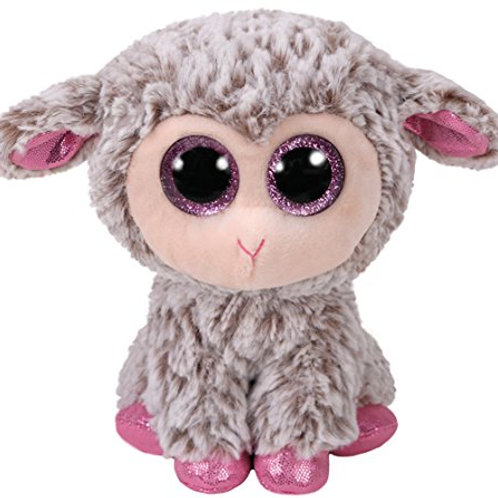 DIXIE THE EASTER GREY LAMB TY BEANIE BOOS 15cm