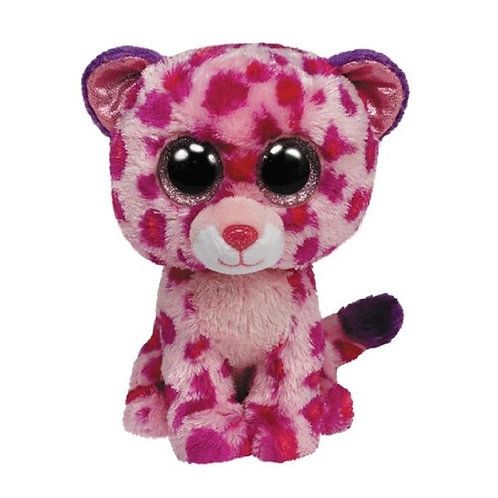 GLAMOUR THE PINK LEOPARD TY BEANIE BOOS