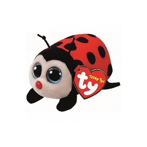TEENY TYS TRIXY THE LADYBIRD  STACKABLE BEANIES