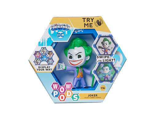 WOW ! POD DC SUPER FRIENDS THE JOKER SERIES 1 SWIPE TO LIGHT