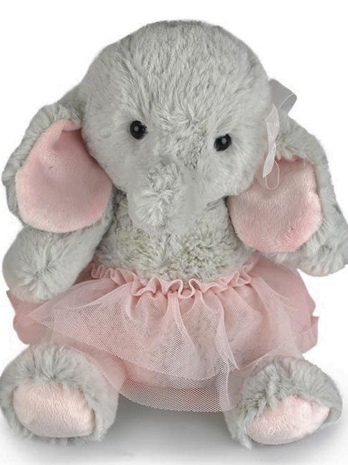 KORIMCO NURSERY COLLECTION ELEPHANT BALLERINA 27CM WITH GIFT TAG
