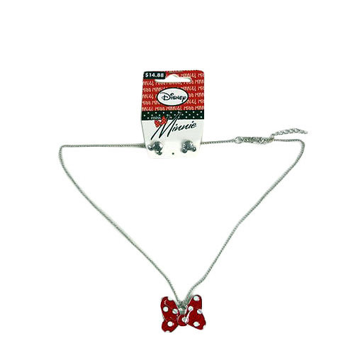 Have one to sell? Sell it yourself MISS MINNIE MINNIE MOUSE NECKLACE SET NECKLA