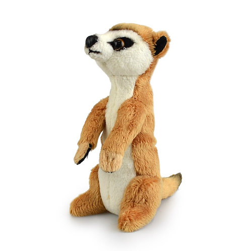 KORIMCO LIL FRIENDS THE ECO FRIENDLY PLUSH TOY MEERKAT 15CM AND ECO FRIENDLY TAG