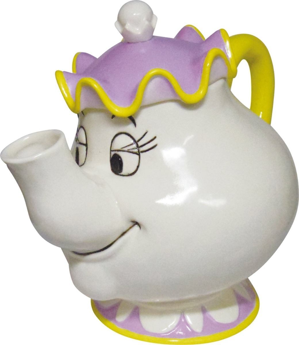 DISNEY MRS POTTS TEAPOT FROM BEAUTY