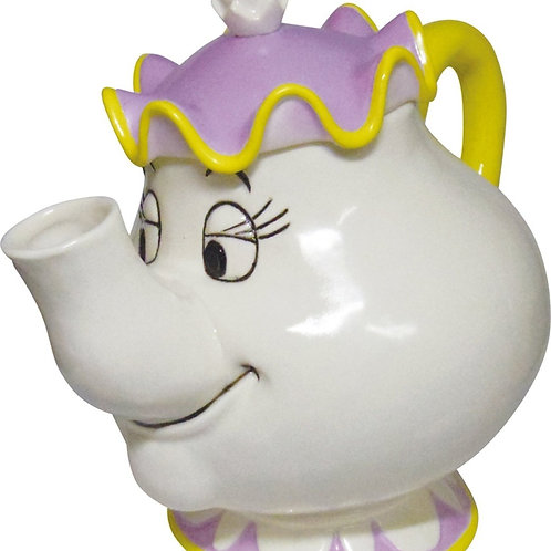 DISNEY  MRS POTTS TEAPOT FROM BEAUTY AND THE BEAST