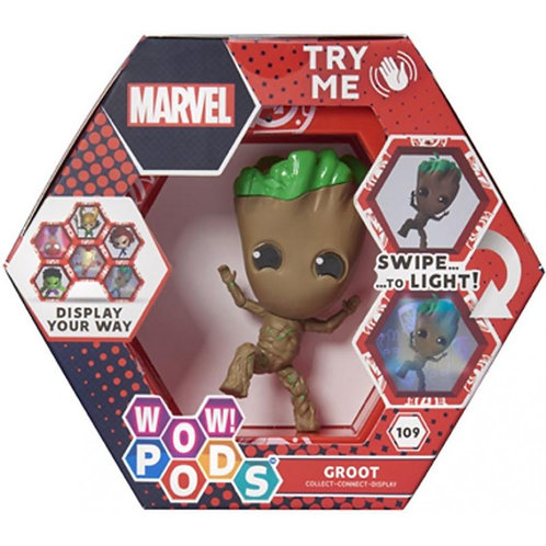 WOW ! POD MARVEL GROOT 109 SERIES 1 SWIPE TO LIGHT