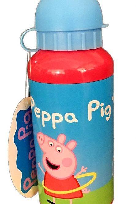 PEPPA PIG 400ML ALUMINIUM WATER BOTTLE