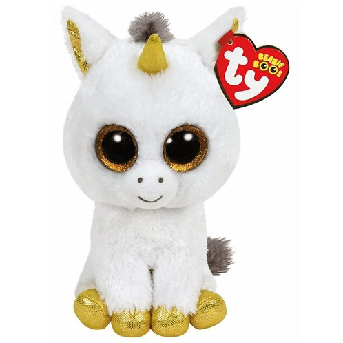 PEGASUS THE WHITE UNICORN TY BEANIE BOOS